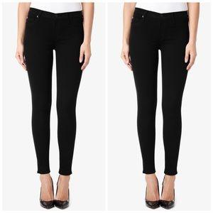 Hudson Nico Black Skinny Jeans